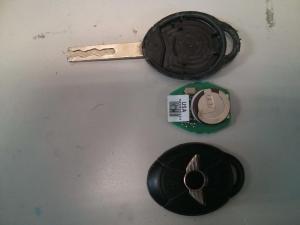 mini cooper remote key opened