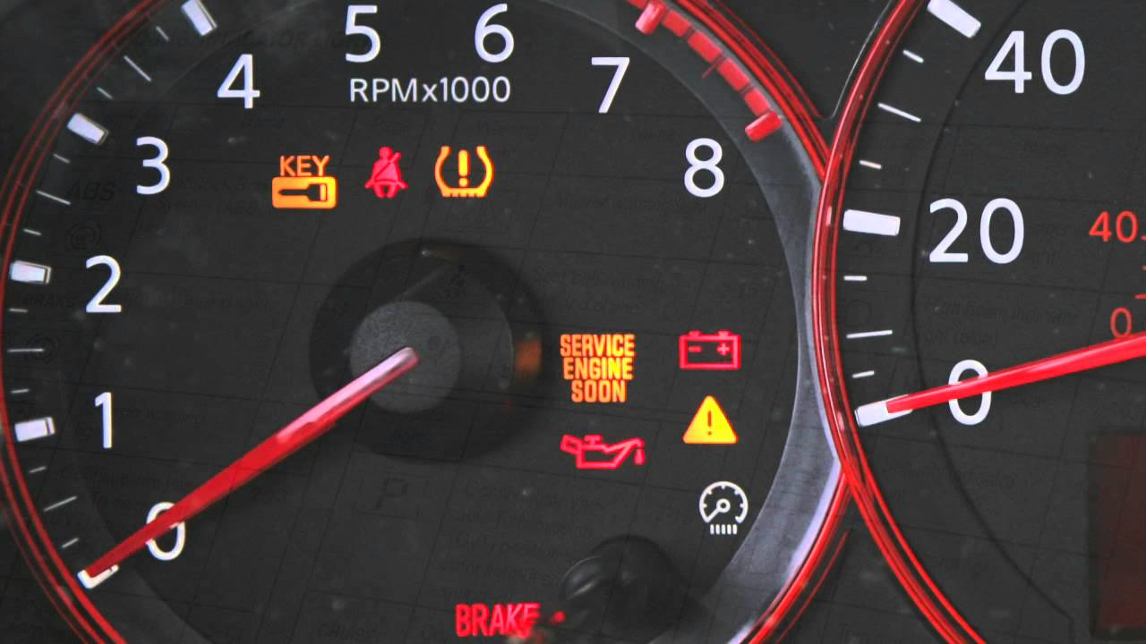 Nissan 370Z / GTR / Altima / Maxima / Cube - No Start No Dash Lights Yellow Key Sign on Dash Problem