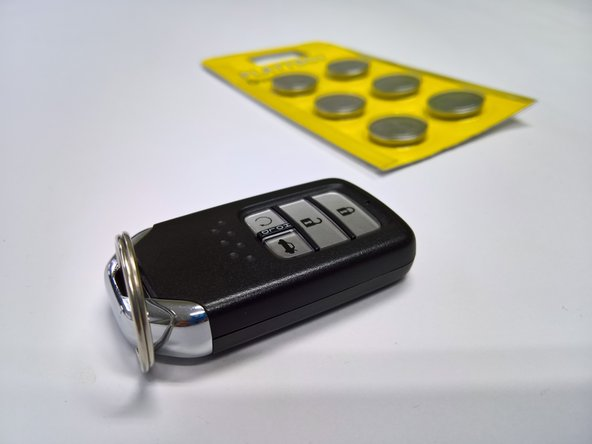 car key battery replacement